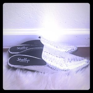 Shelly's London Silver Cantara Mule